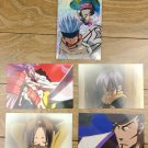 Japanese Anime Jump Shaman King Card x5 pages M030