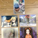 Japanese Anime Jump Shaman King Card x5 pages M031
