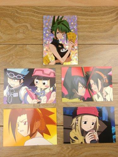 Japanese Anime Jump Shaman King Card x5 pages M032