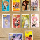 Japanese TOMY Shaman King Menko Megamen Card x10 pages N009