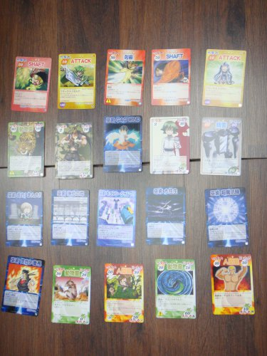 Japanese TOMY Shaman King Card Game Card x20 pages O002