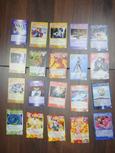 Japanese TOMY Shaman King Card Game Card x20 pages O009