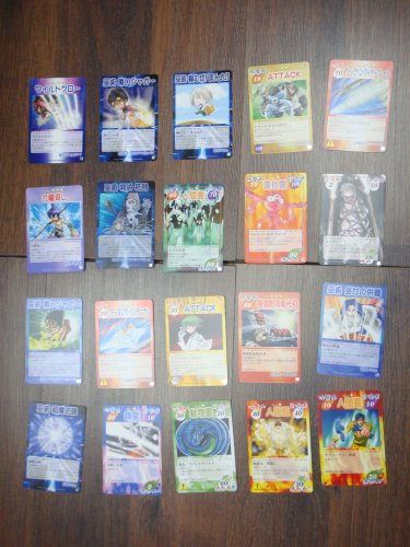Japanese TOMY Shaman King Card Game Card x20 pages O029