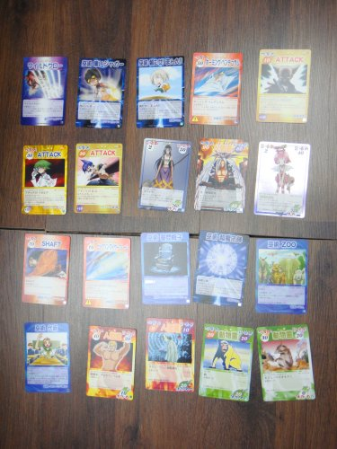 Japanese TOMY Shaman King Card Game Card x20 pages O030