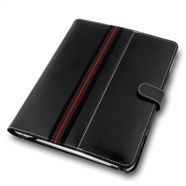 Naztech Black Elegant Book Style Case for Apple iPad 1,2,3rd,4th Gen.
