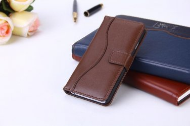 Brown Soft Italian Leather Iphone 6 (4.7) Wallet Case