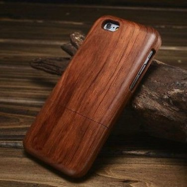 iPhone 5 Natural Walnut Wood Hard Back Case Cover