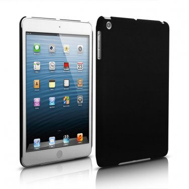 iPad Mini 1 2 & 3 Black Rubberized SnapOn Cover