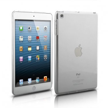 iPad Mini 1 2 & 3 Clear Rubberized SnapOn Cover