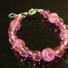 6-12 Months: Bright Pink Baby & Toddler Bracelet