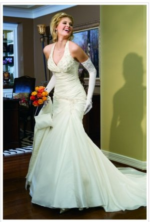 Wedding Dress Halter 7960