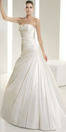 Wedding Dress Pronovias White One 6215