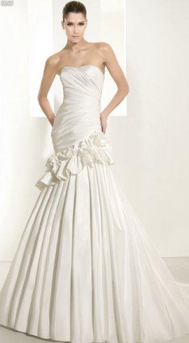 Wedding Dress Pronovias White One 6242
