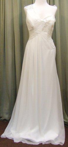 Pronovias White one Nuoro Size 16(US) off white