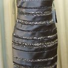 Party dress charcoal