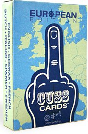 Cusscards European Edition Playing Cards