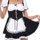 Sexy Maid Mini Dress Costume