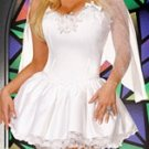 Princess Wedding Dress Costume