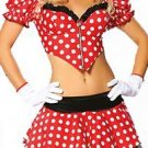3pc Sexy Minnie Mouse Costume