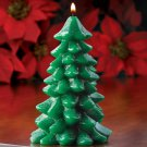 ~FREE SHIPPING~CANDY CANE SCENTED SPARKLE TREE CANDLE
