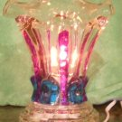 Crystal Colored Teardrops Electric Oil Warmer