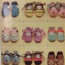 #0481 SIMPLICITY BABY SHOES SIZE A PATTERN