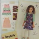 #2063 SIMPLICITY LIL LISETTE CHILD'S DRESSES A PATTERN
