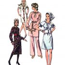 70s Peasant Dress & Pants Vintage Sewing Pattern Simplicity 9103 Bust 32 1/2 No Envelope
