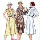 70s Shirt Dress Vintage Sewing Pattern Vogue 9822 Bust 32 1/2