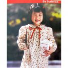 Girls Dress Sewing Pattern Butterick 6644 Size 4 5 6