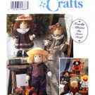 Simplicity 8763 Doll & Clothes Sewing Pattern Size 12 inch UNCUT