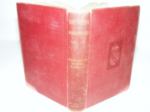 THE WORKS OF SHAKESPEARE VOL. VIII EVERSLEY EDITION 1902