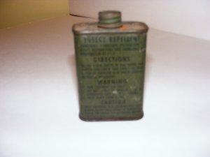 WWII INSECT REPELLANT CAN