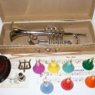 VINTAGE-MAGNUS TOY TRUMPET-IN BOX-PLUS XTRA'S-PRISTINE