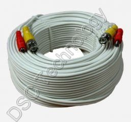 100ft PREMADE SIAMESE CABLE FOR CCTV CAMERA