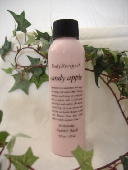 BODY RECIPES Milkshake Bubblebath - CANDY APPLE