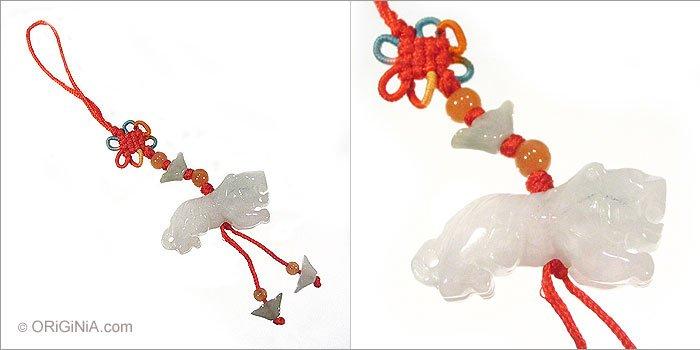 Mobile charm tiger feng shui chinese zodiac animal bag - Feng shui mobel ...