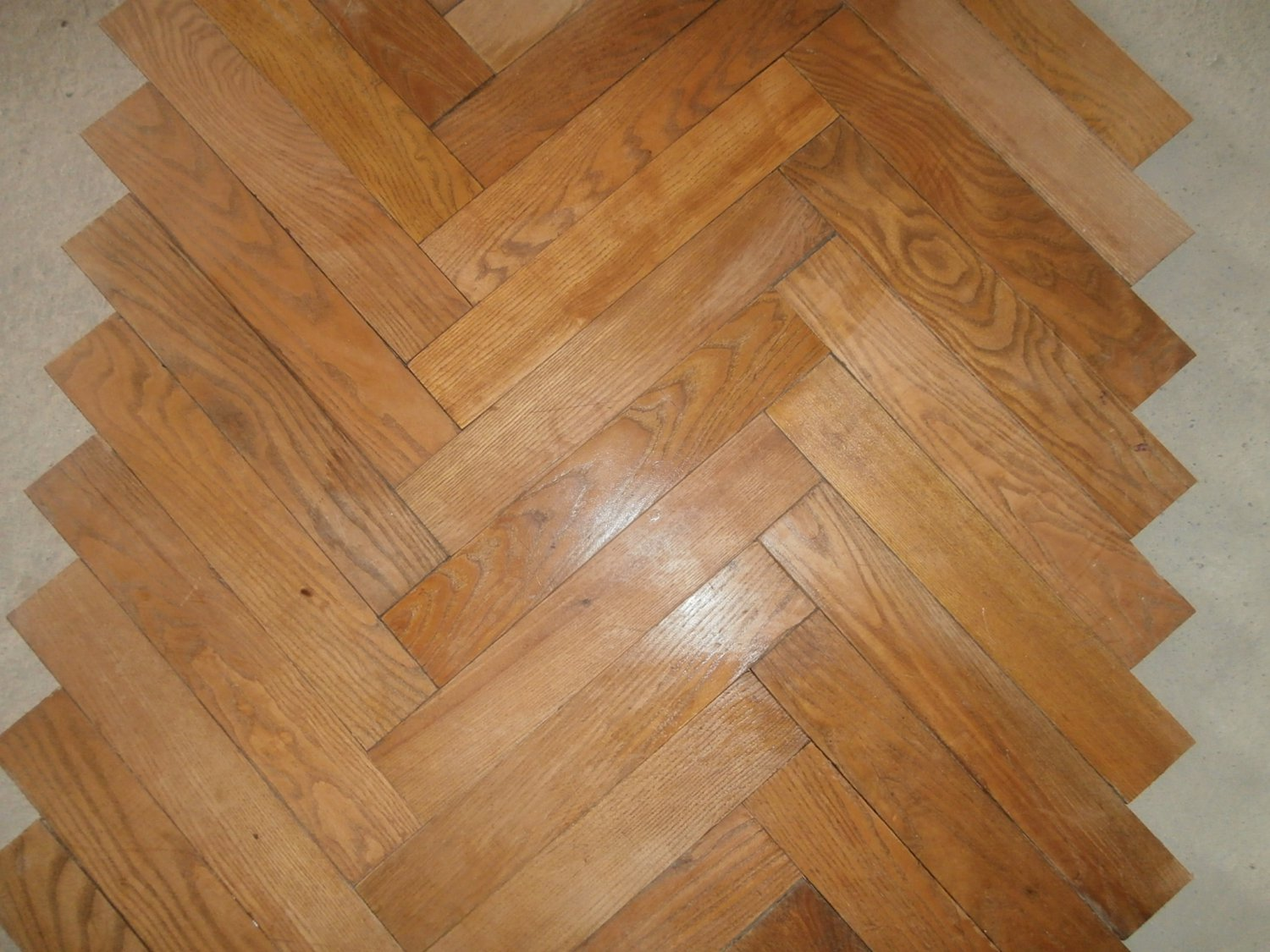 1 Really old french solid oak parquet flooring