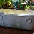12 - Old  Carrara marble bathtub from old spanish spa resort
