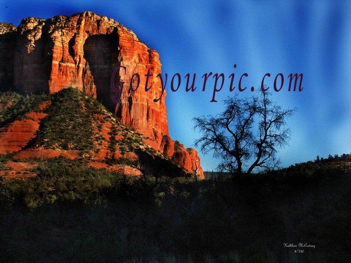 Beautiful Bell Rock Original Print-Sedona Arizona
