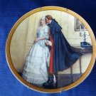 1986 1st Edition 1986 Norman Rockwell's Unexpected Proposal Collector Plate