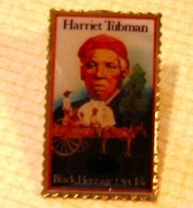 Harriet Tubman Stamp Pin Mcdonalds Black Heritage 1744mc S