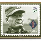 Distinguished Marine Puller stamp pin lapel hat 3962