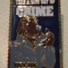 McGruff Crime Preventation Dog Stamp Pin lapel 2102sm