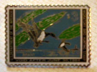 Brant duck stamp pin lapel pins hat collectible rw30