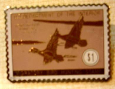 Wood Ducks duck stamp pin lapel pins hat tie tac rw10