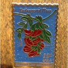 Hawaiian Broadbeam Flower stamp pin lapel pins hat 1784