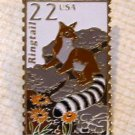 Ringtail Wildlife stamp pin hat lapel pins tie tac 2302