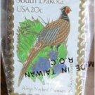 Ring-Necked Pheasant SD Pasqueflower stamp pin hat 1993