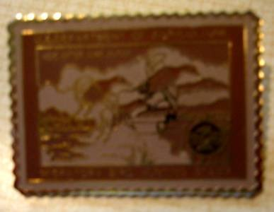 Canvasback duck stamp pin lapel pins hat tie tac RW2